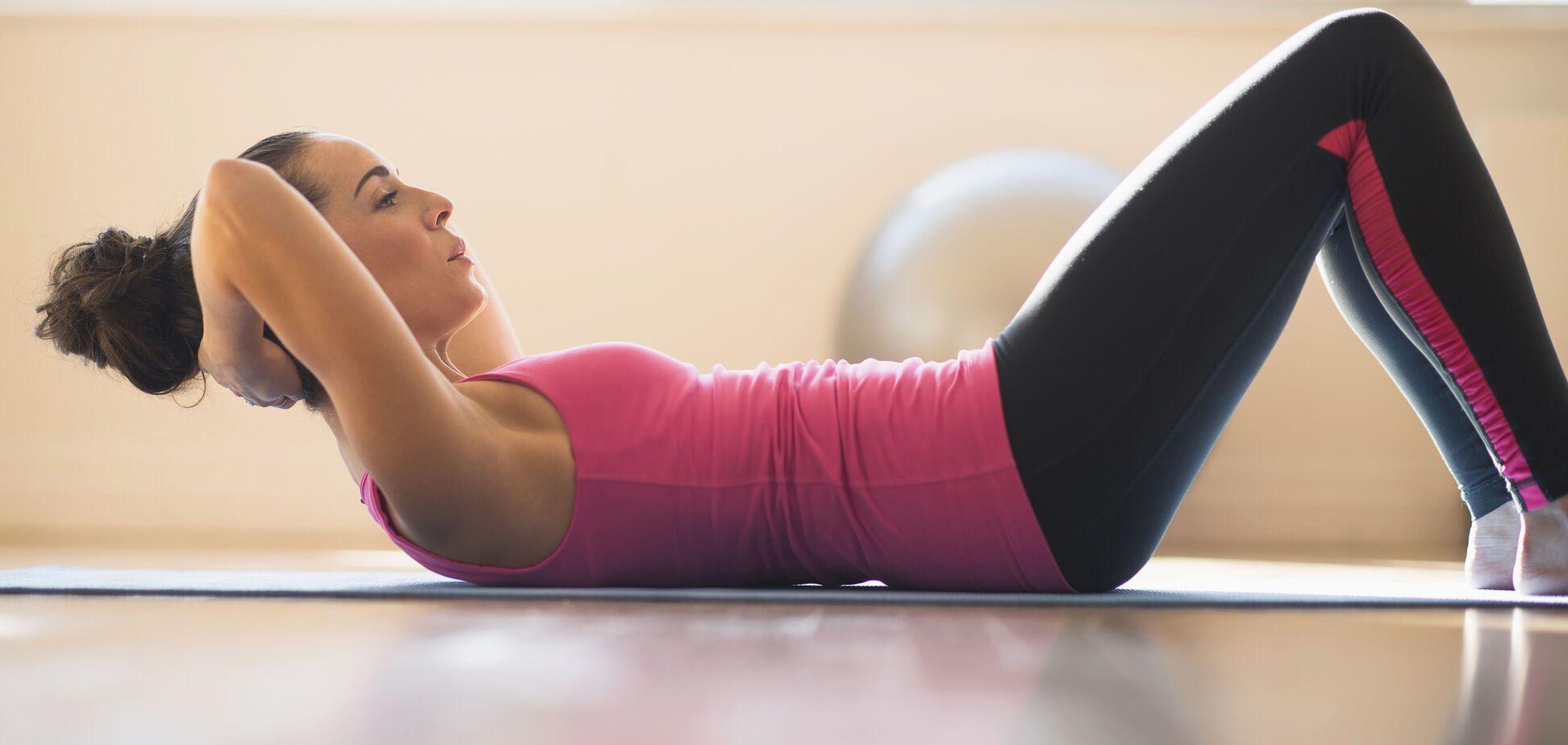 Упражнения для красивого пресса: топ-5 простых и эффективных