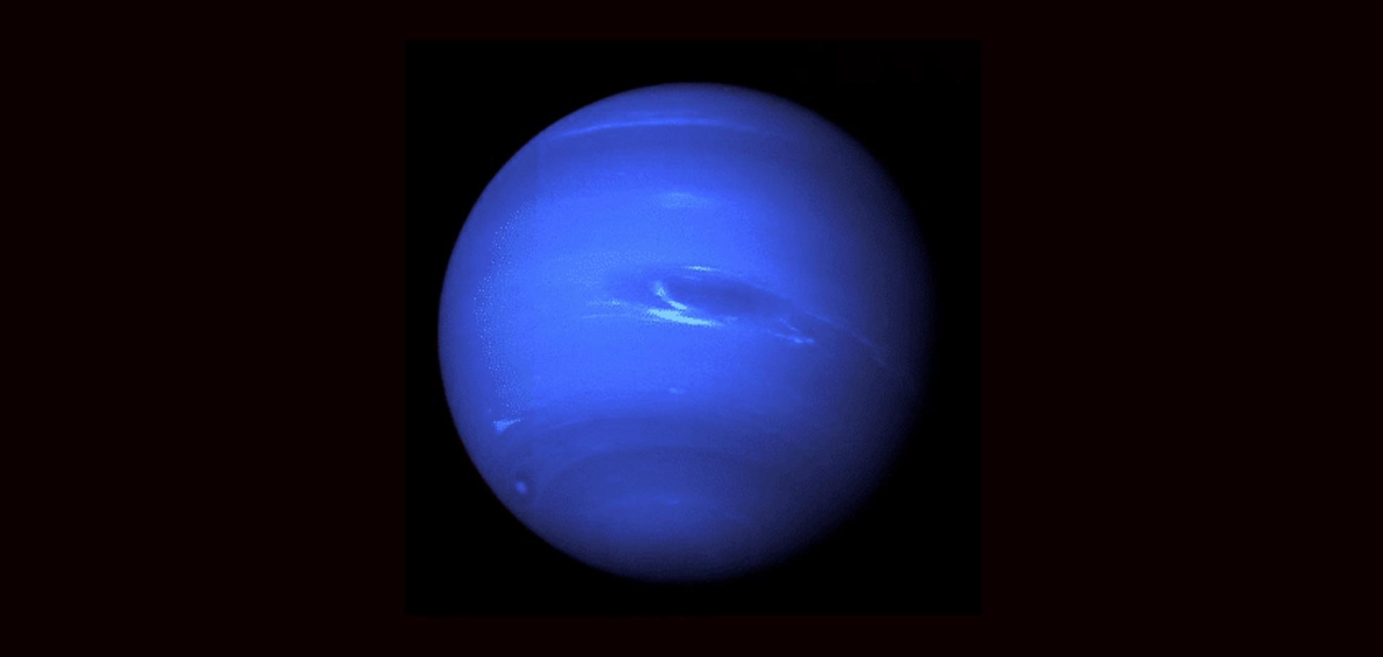 Планета Нептун: атмосфера, супутники, цікаві факти