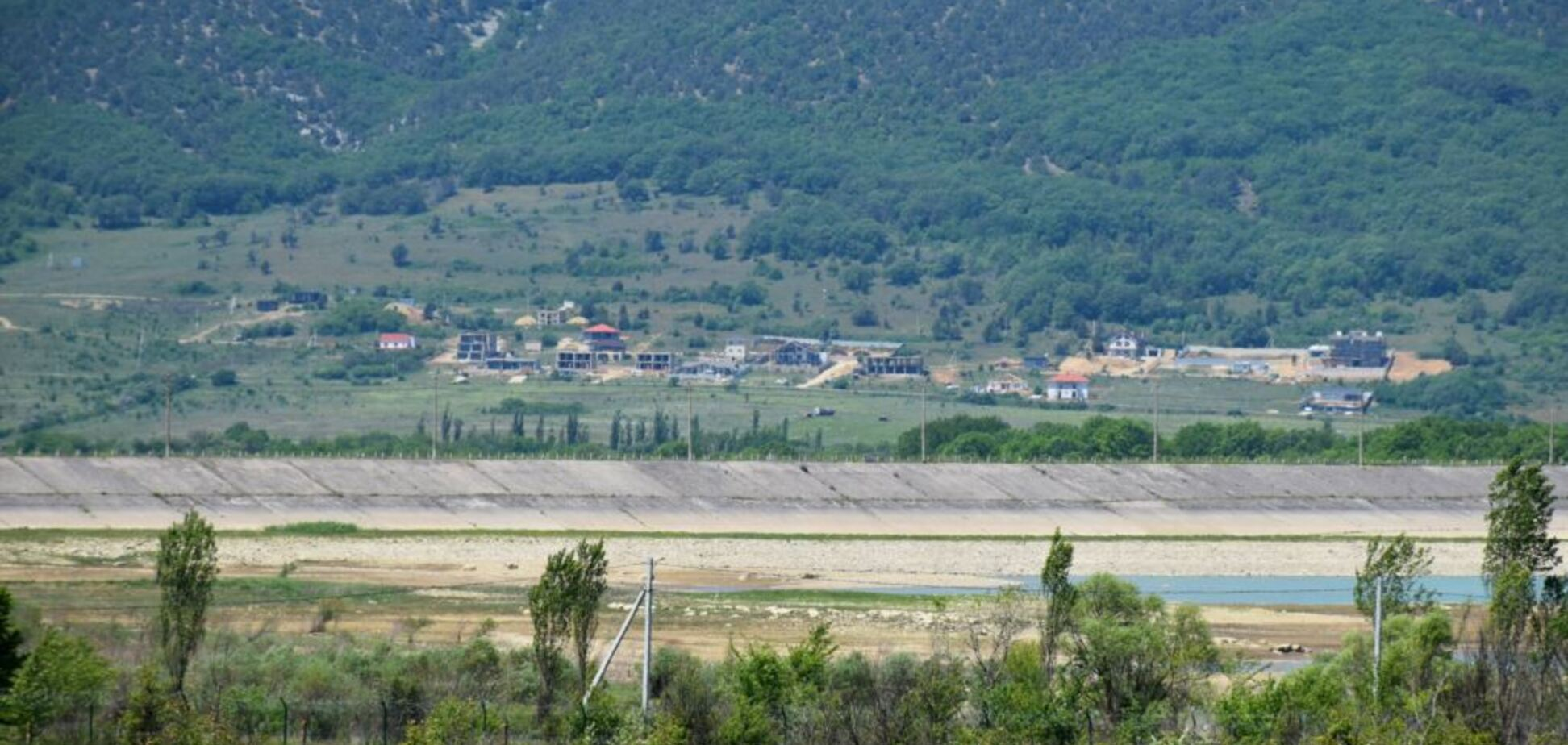 Обмеление Чернореченскоговодохранилища