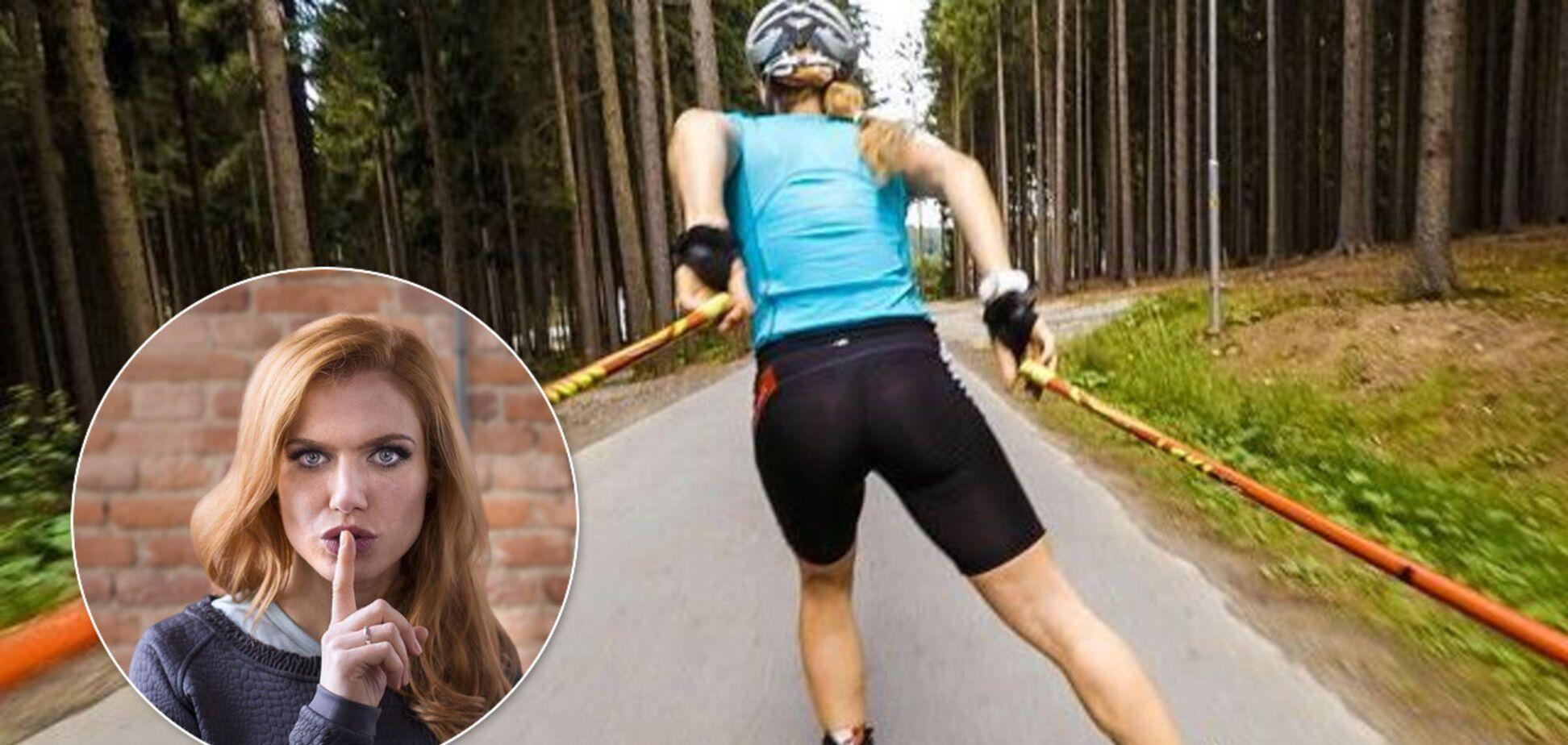 Экс-биатлонистка Коукалова впечатлила поклонников необъятным декольте