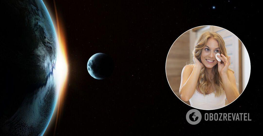 Какие косметические процедуры делать во время лунного затмения
