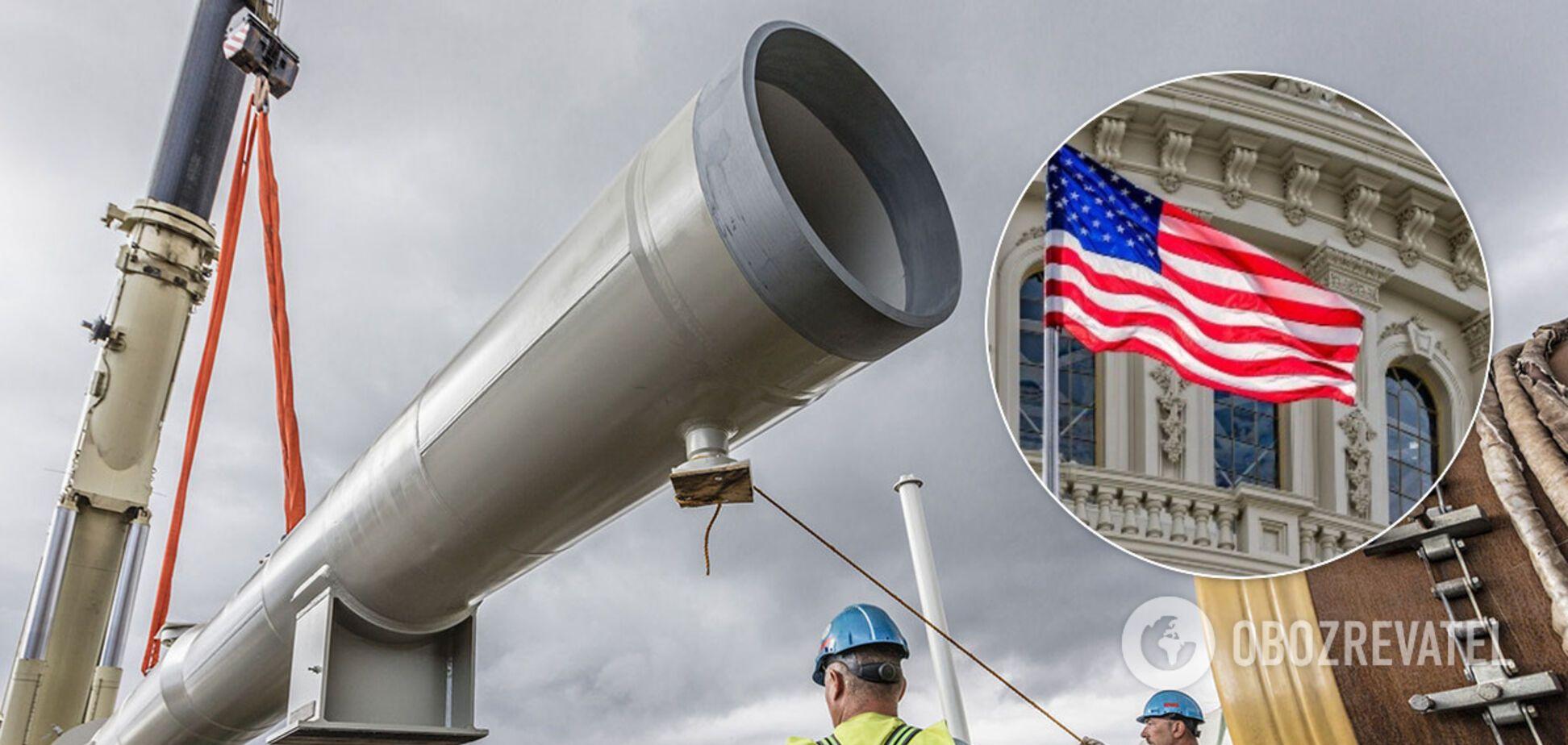 В Сенат США внесли законопроект о новых санкциях для 'Северного потока-2'