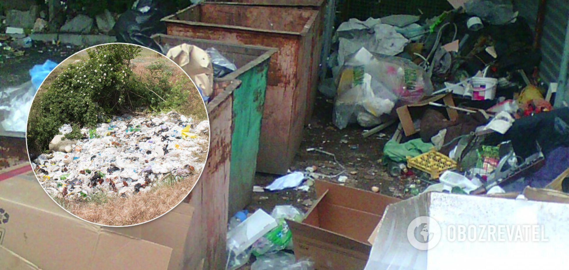 Побережье Крыма утопает в мусоре: появились показательные фото