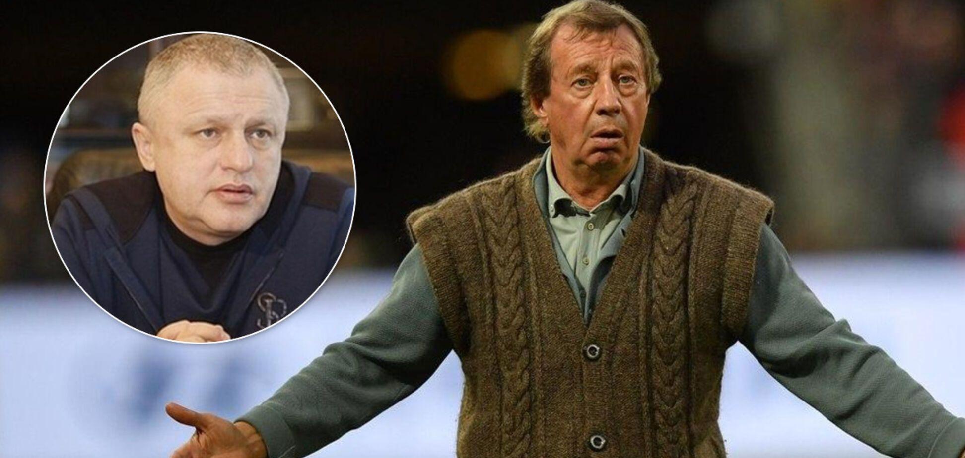 Суркіс прокоментував чутки про призначення Сьоміна головним тренером 'Динамо'