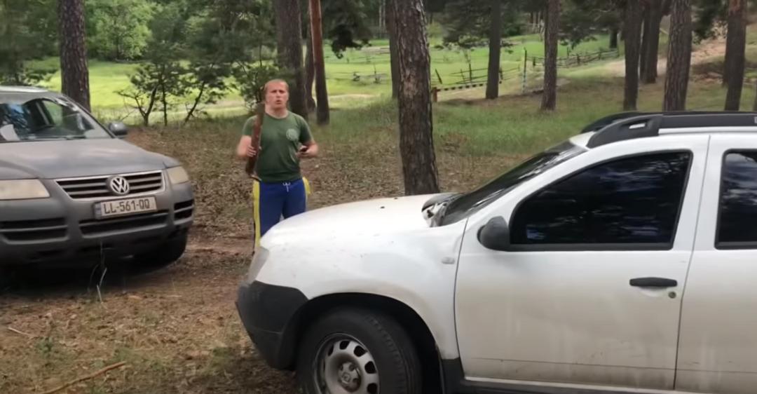 На Харьковщине задержали поселенцев Слобожанской Сечи: те из-за дрона побили авто полиции