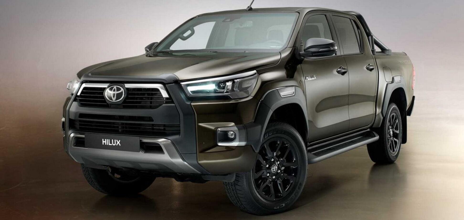 2021 Toyota Hilux. Джерело: toyota.com