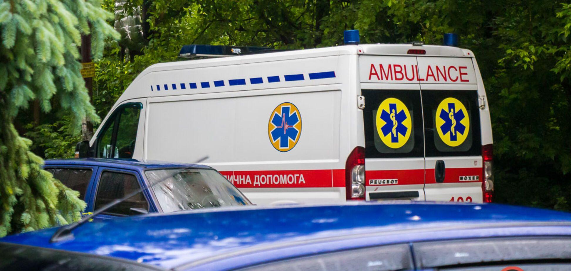 В Днепре женщина погибла после падения с балкона. Фото с места ЧП