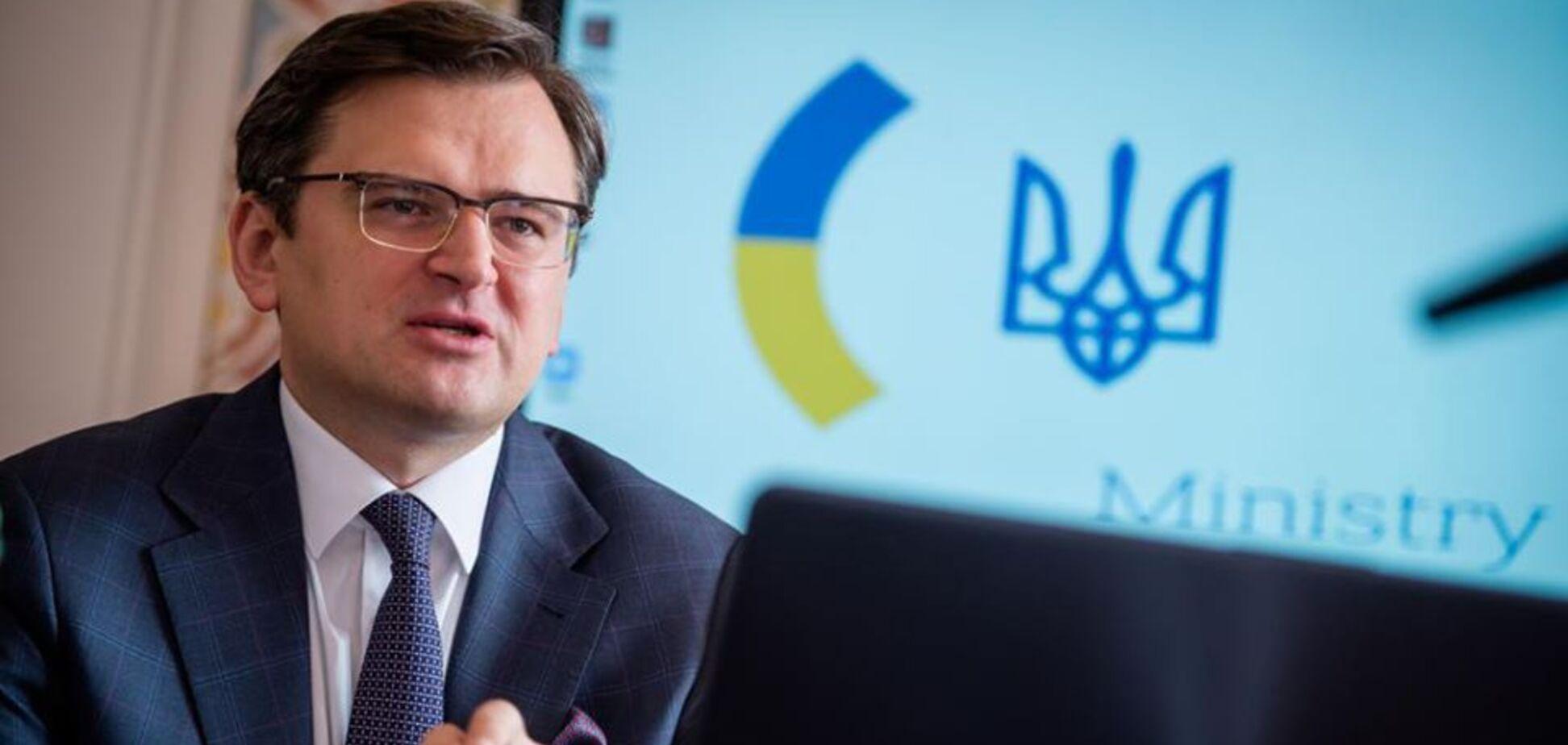 Кулеба рассказал, как Козак ''исподтишка'' ездил на переговоры в Берлин. Источник: Facebook МИД Украины
