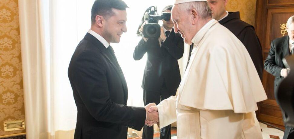 Папа Римський зайнявся звільненням Марківа: Зеленський розкрив подробиці переговорів