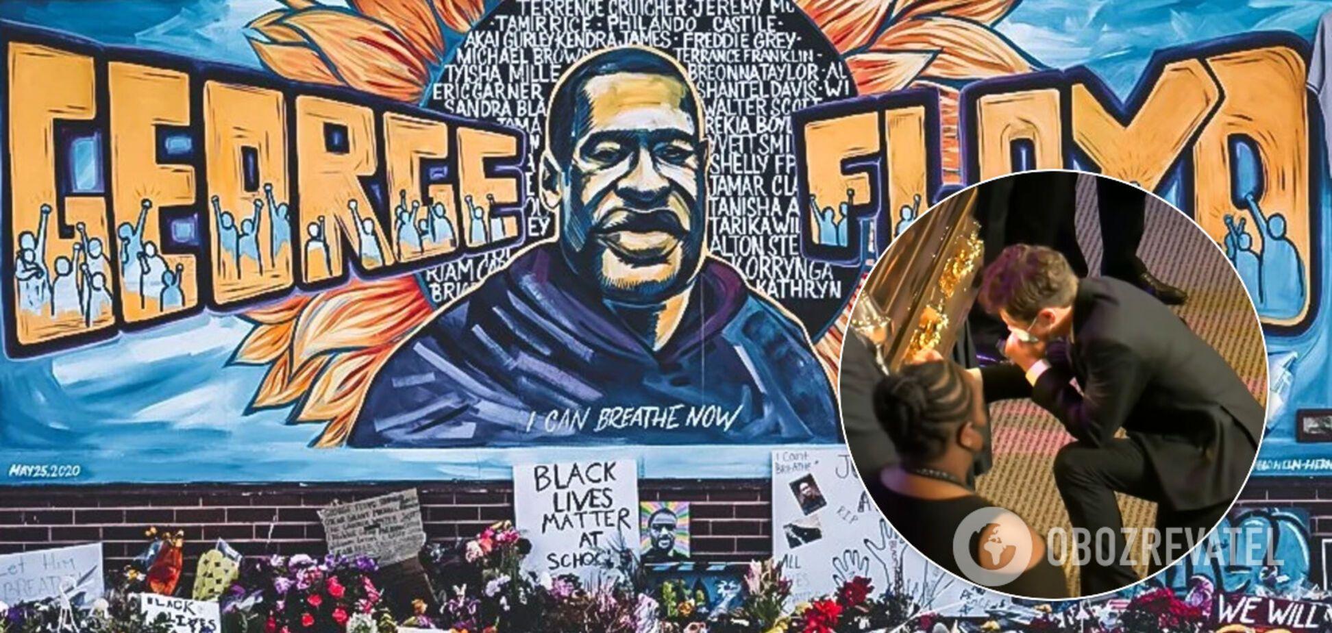 Мэр Миннеаполиса разрыдался на похоронах убитого Джорджа Флойда: трогательные кадры