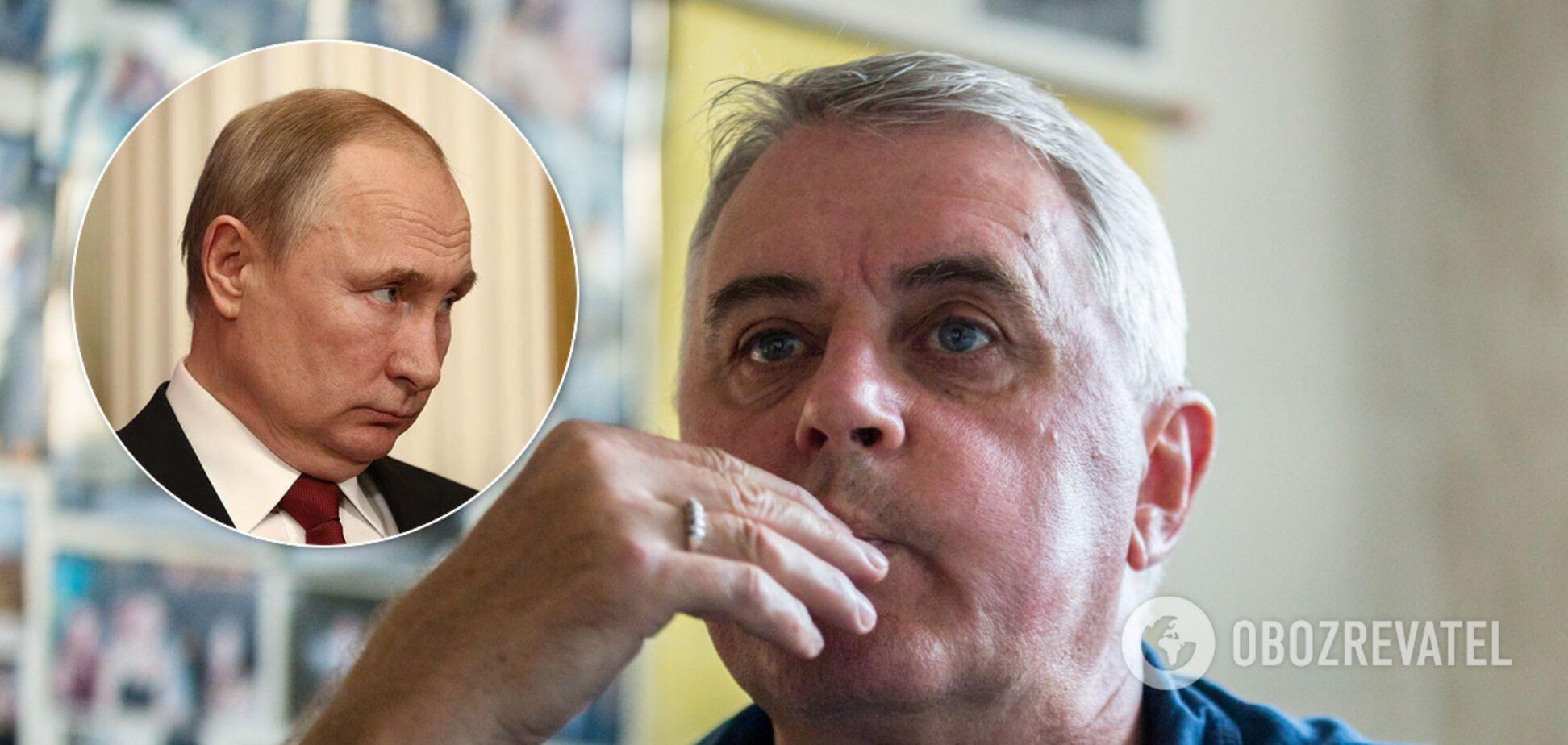 Подерв'янський: Путін не помер, у нього навіть немає двійників