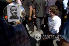 Трюдо встал на колени в память об убитом в США Флойде. Видео