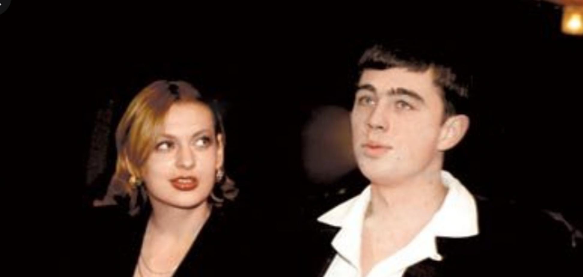 Сергей Бодров с женой Светланой