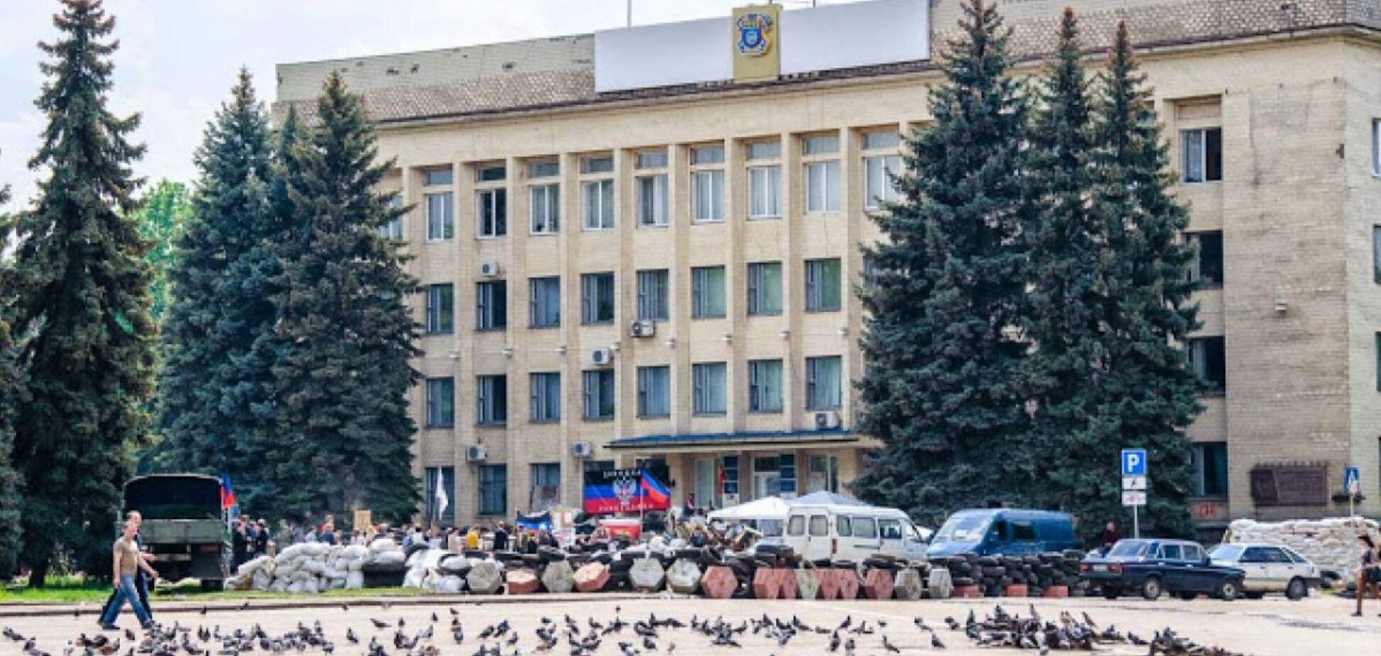 Оккупированный Краматорск в 2014 году. Источник: ТСН
