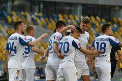 'Динамо' в игре с тремя пенальти забило пять мячей 'Александрии' в УПЛ