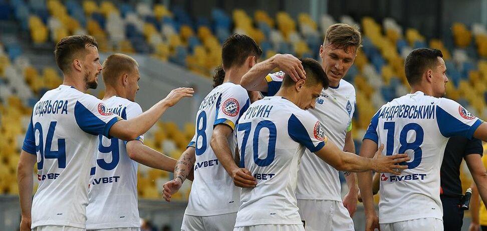 'Динамо' в грі з трьома пенальті забило п'ять м'ячів 'Олександрії' в УПЛ