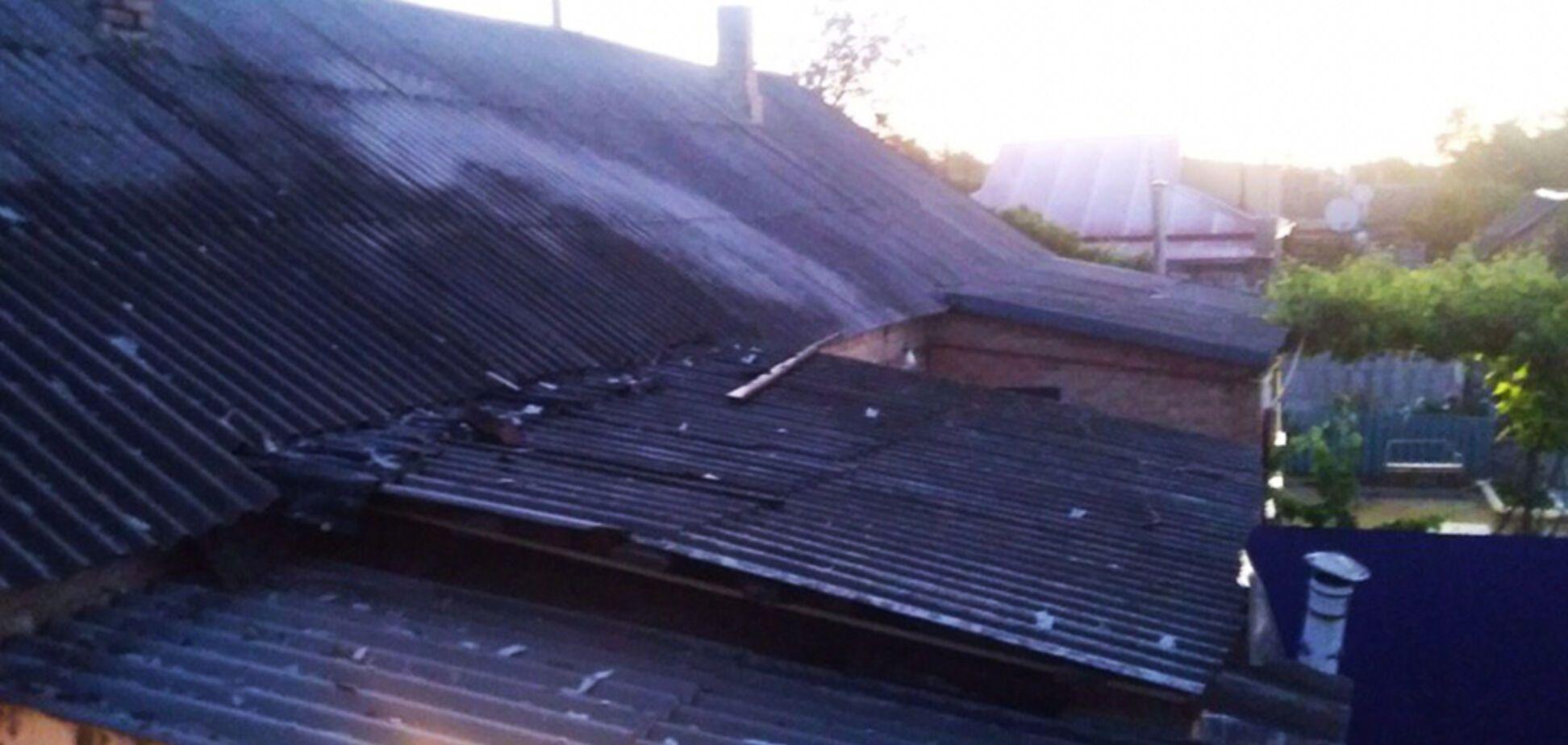 На Днепропетровщине во время пожара в доме сгорел мужчина. Фото