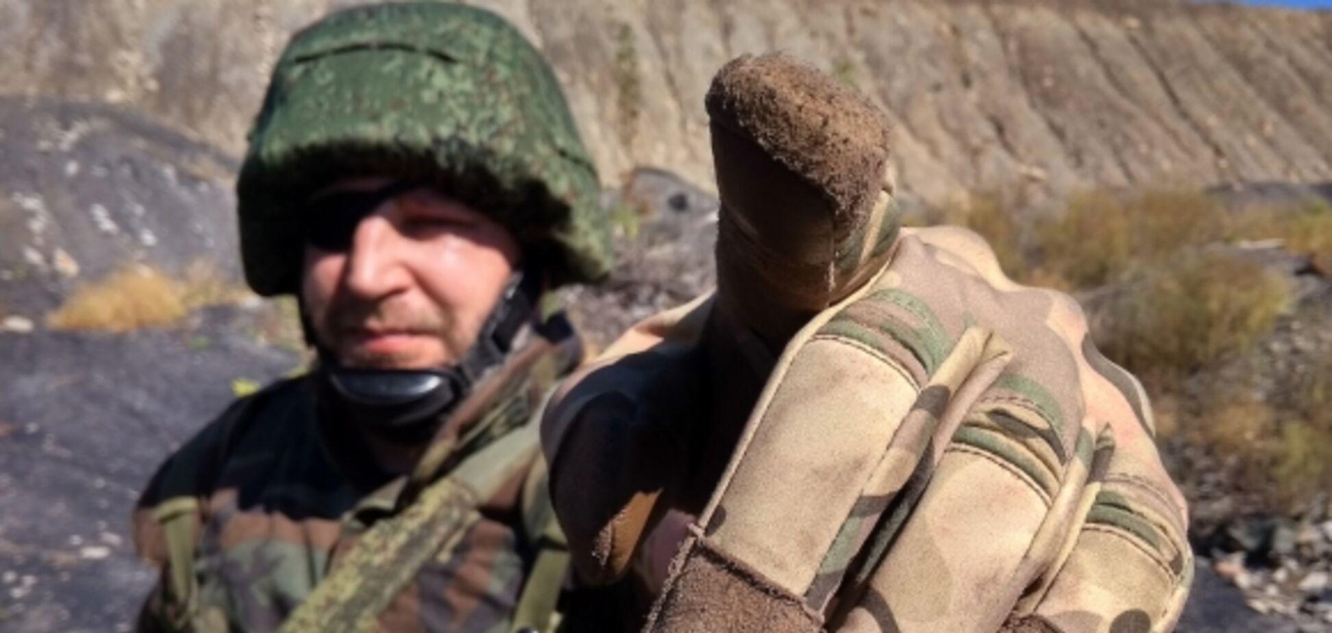 В сети показали маскировку войск России на Донбассе. Фото