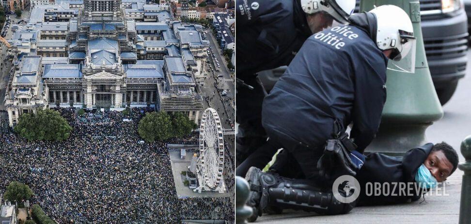 Протести в Брюсселі