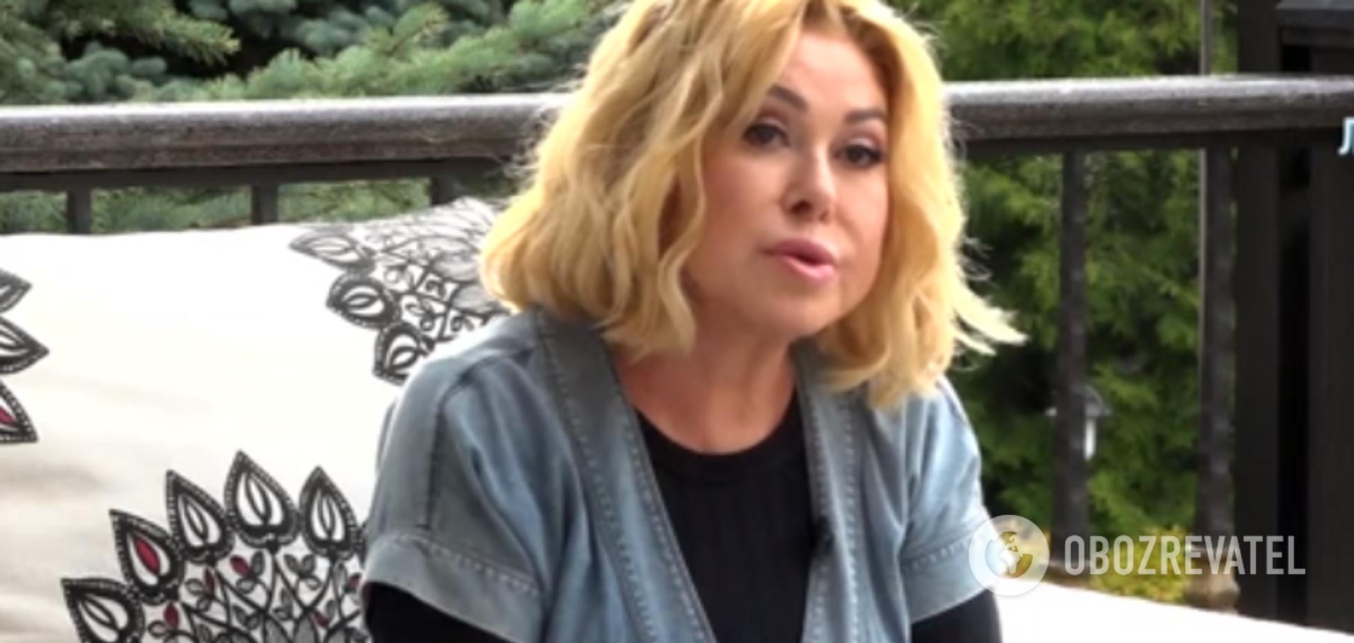 Успенская рассказала о проблемах со здоровьем после скандала с дочерью