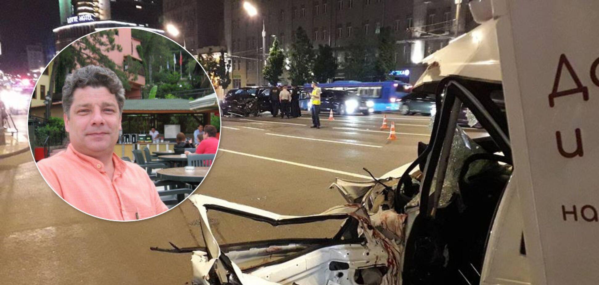 Сергей Захаров погиб в результате ДТП, которое устроил Ефремов