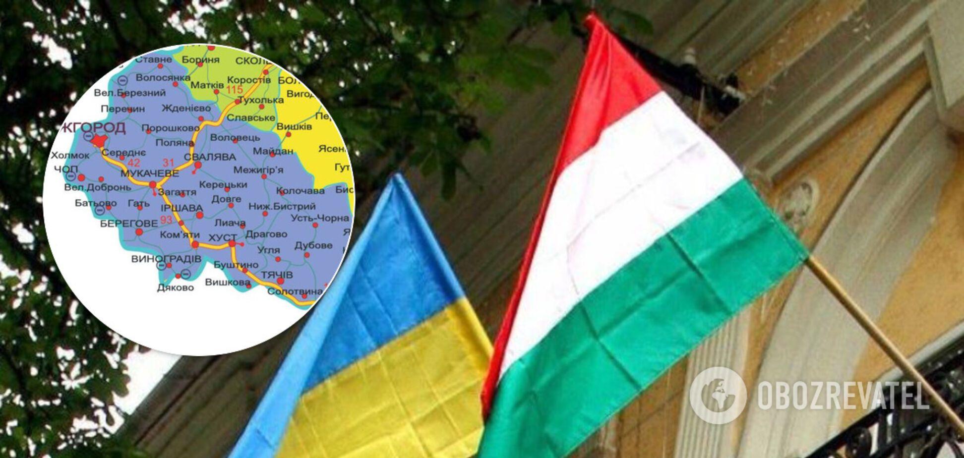 На Закарпатті планують створити 'угорський' район: вказано на приховану загрозу для України