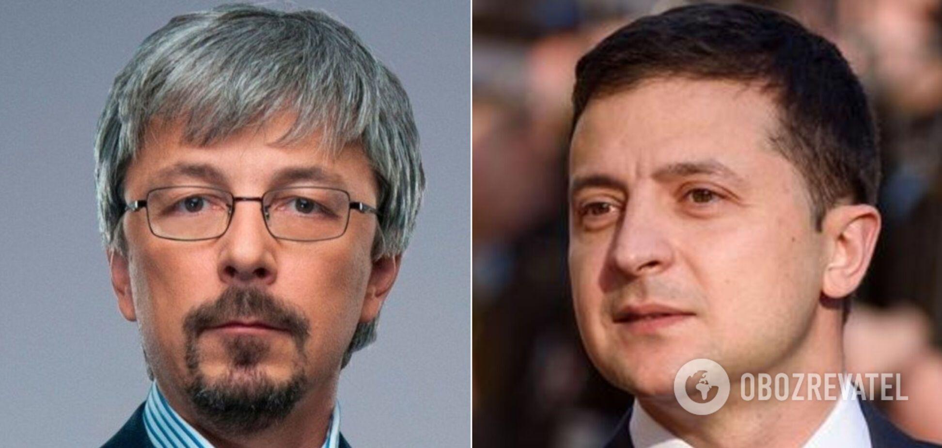 Ткаченко розповів про першу зустріч із Зеленським на посаді міністра