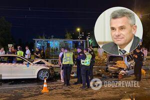 В Харькове экс-помощник Кернеса угодил в ДТП: был неадекватен и кидался на полицию. Фото и видео