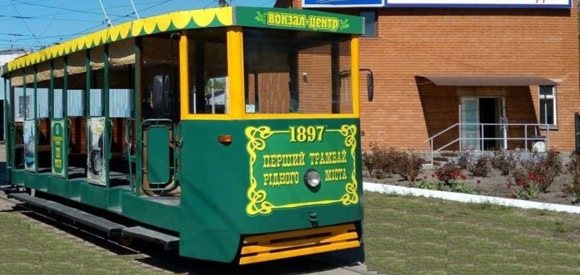 Ретро-трамвай в Днепре. Источник: 056.ua