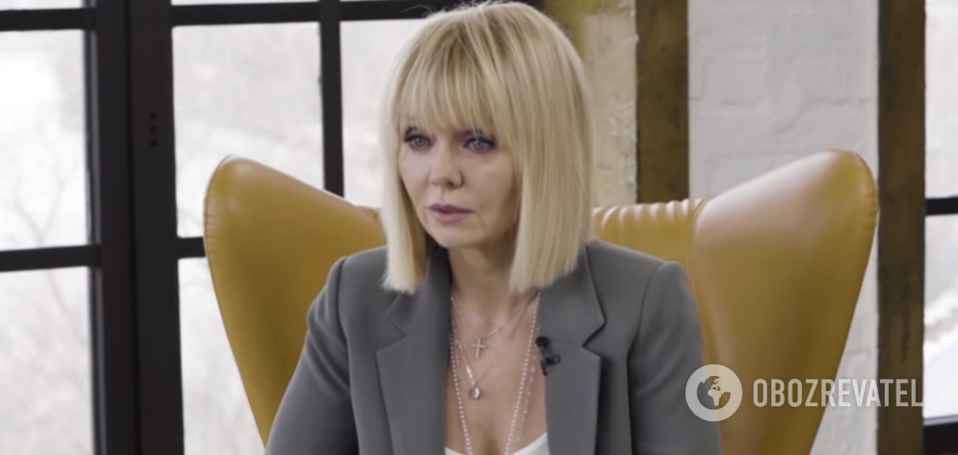 Співачка Валерія відверто розповіла про домашнє насильство