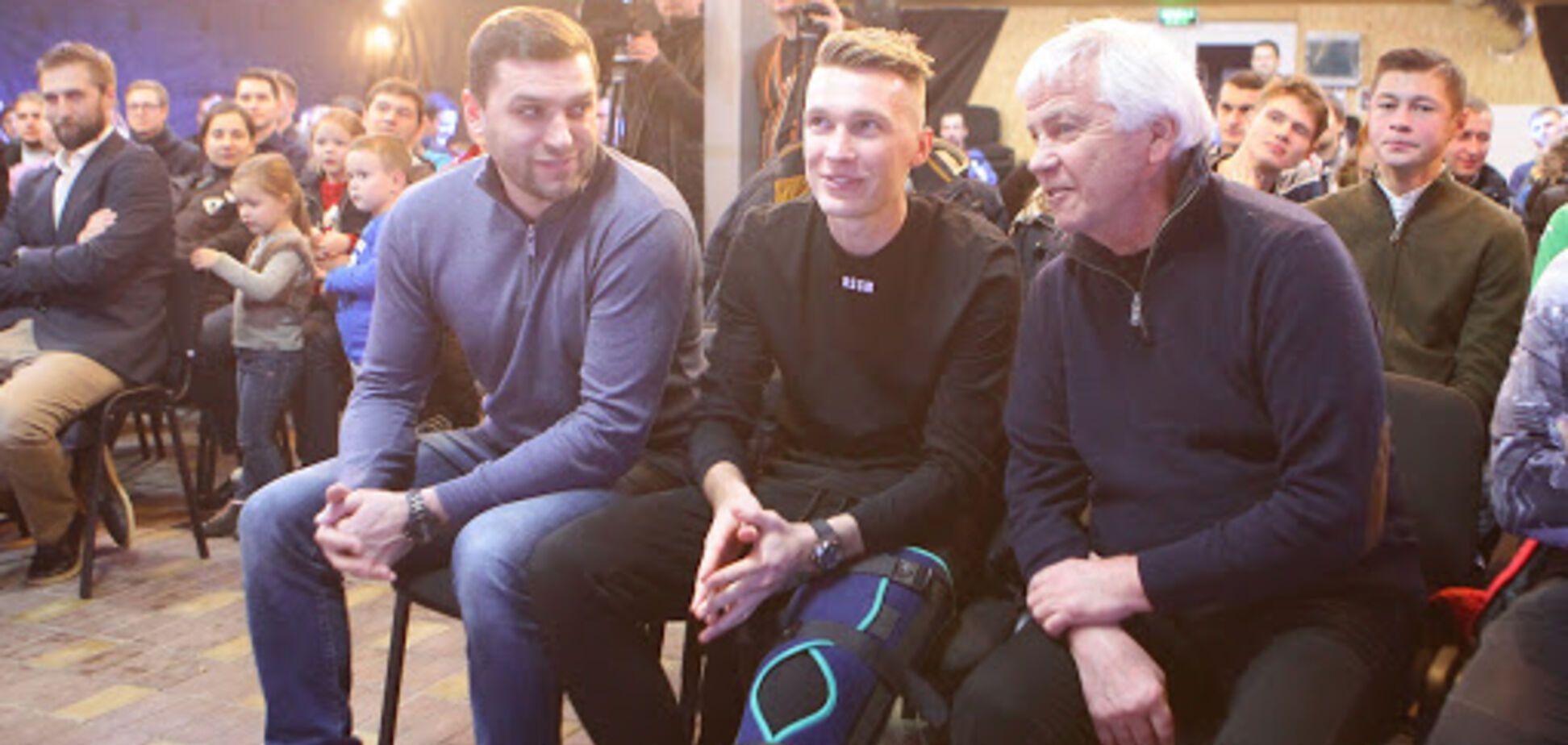 Сергей Михайленко, Сергей Сидорчук и Владимир Мунтян. Источник: ФК ''Динамо'' Киев