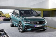 Поехал на электричестве: представлен новый VW Tiguan 2021