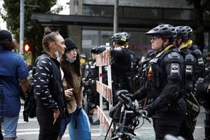 Полиция Сиэтла разогнала протестующих