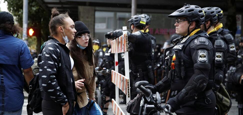 Поліція Сіетла розігнала протестувальників