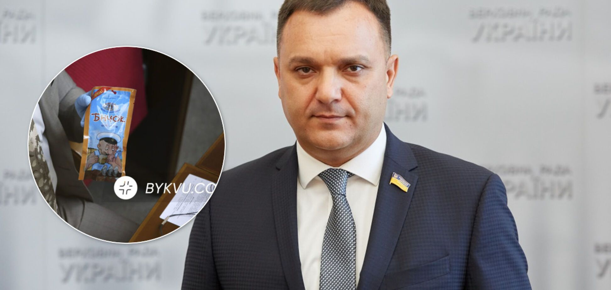Нардепа Виктора Черного подловили с бычками в Раде
