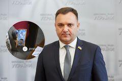 Нардепа Віктора Чорного підловили з бичками в Раді