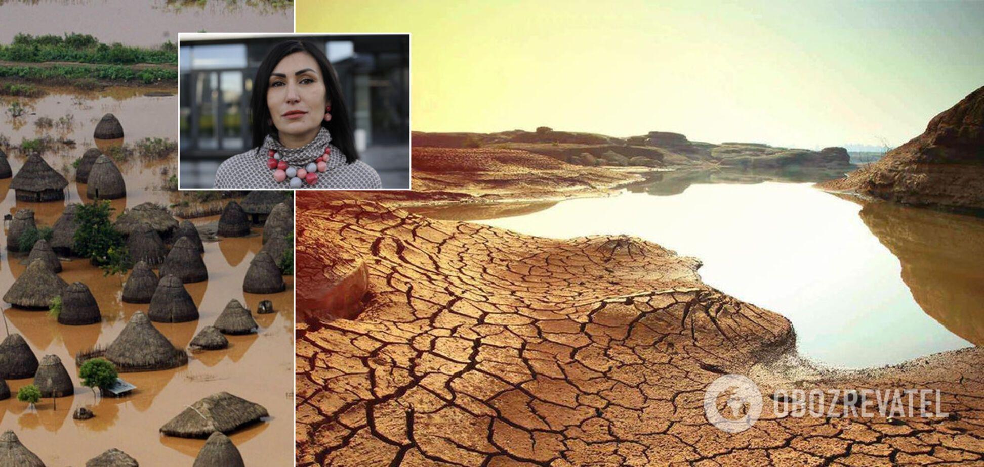 Мир ждут экологические катастрофи