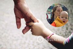 В Киеве у женщины похитили ребенка