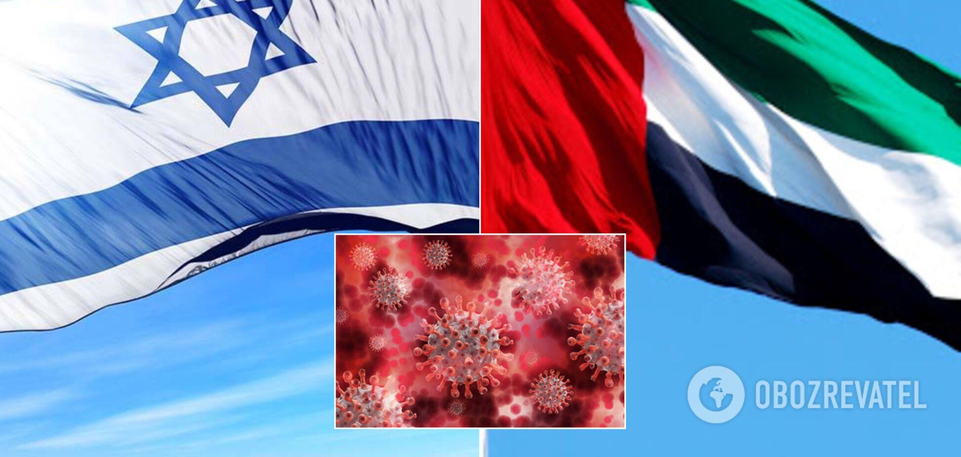 Израиль и ОАЭ объединились против COVID-19