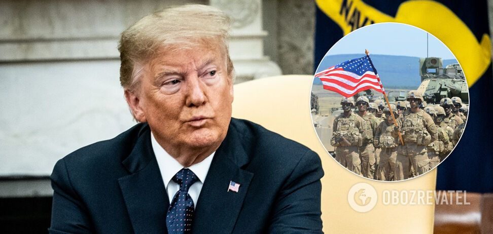 Трамп затвердив перекидання військ у Європі