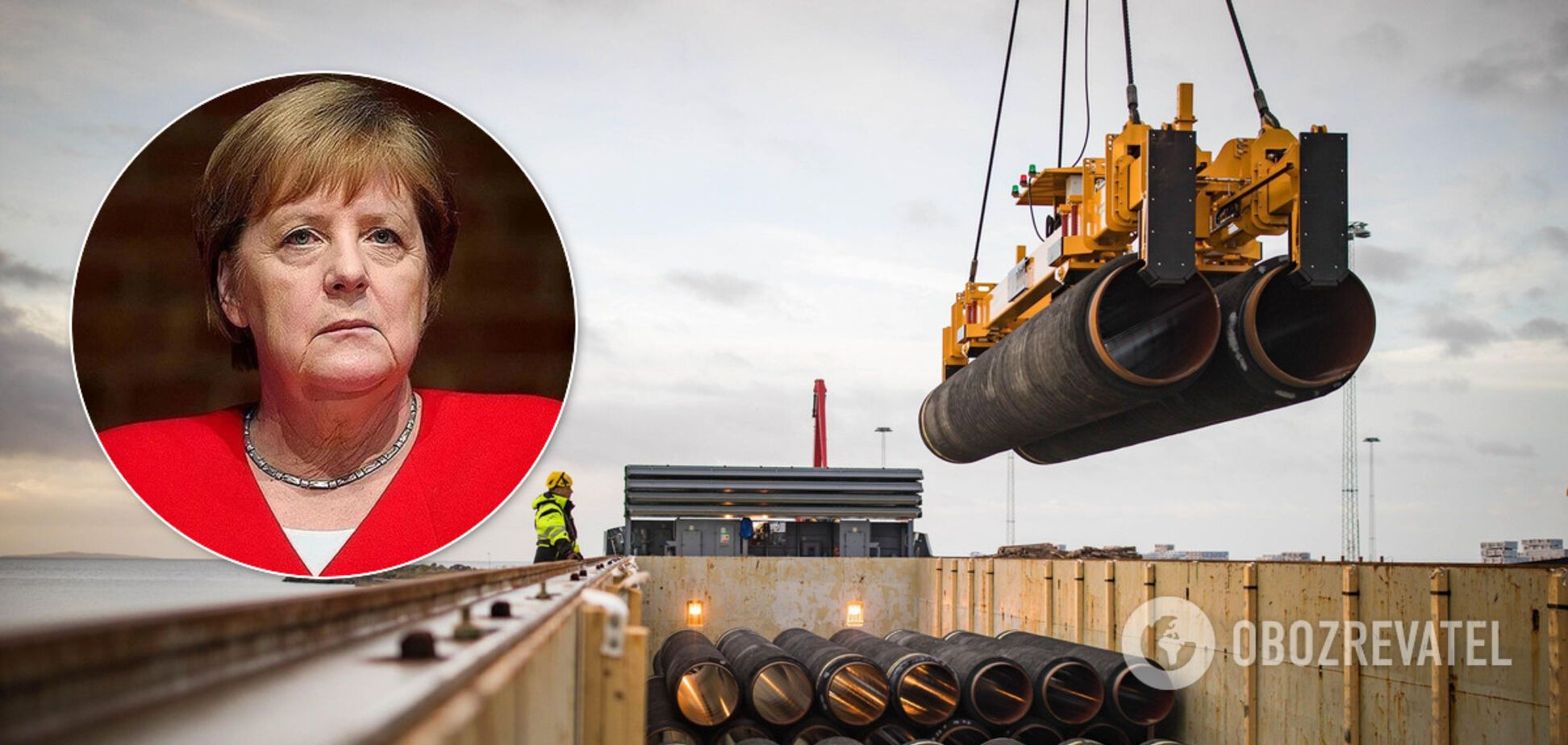 Ангела Меркель сделала заявление по 'Северному потоку-2'