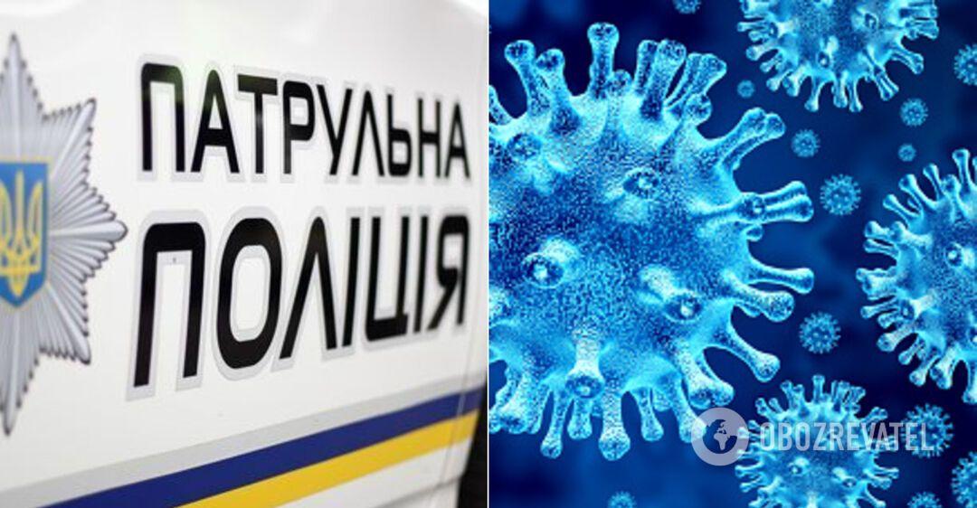 У відділенні поліції на Волині спалахнув коронавірус