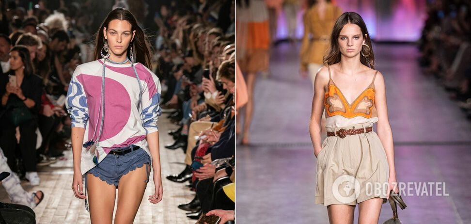 Летом 2020 года в моде шорты в стиле сафари, короткие шорты и другие