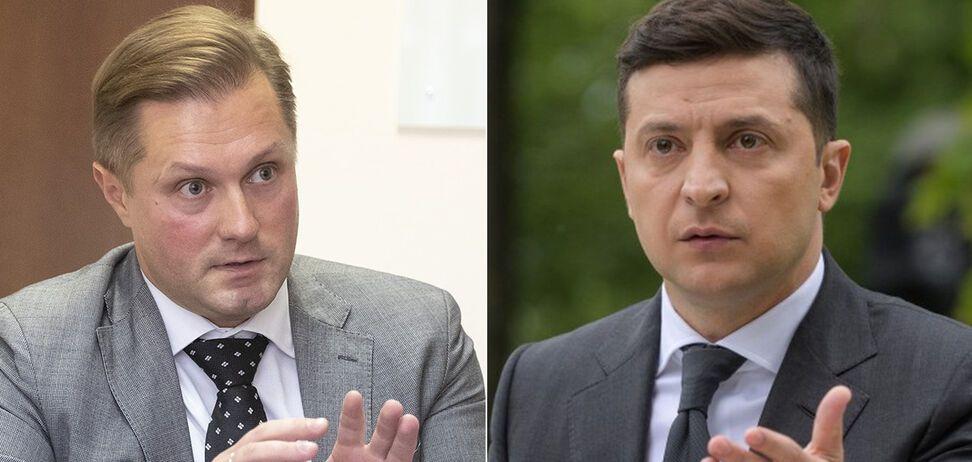 Президент Зеленський нібито змусив главу АМКУ Терентьєва написати заяву про відставку