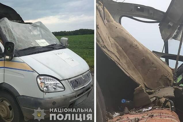 Спіймані злочинці, які підірвали авто 'Укрпошти'