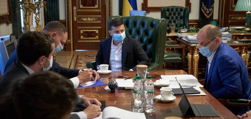 Володимир Зеленський провів нараду з Максимом Степановим