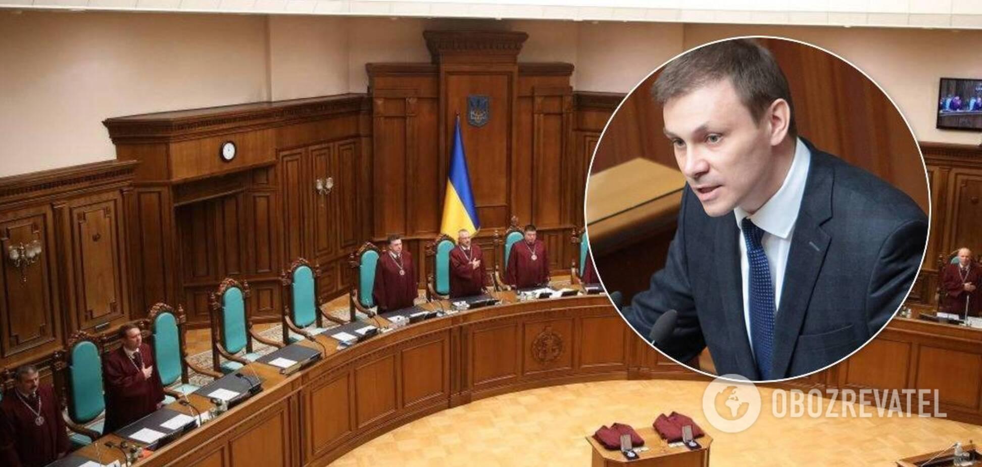 Судді КСУ влаштували іспит Долженкову