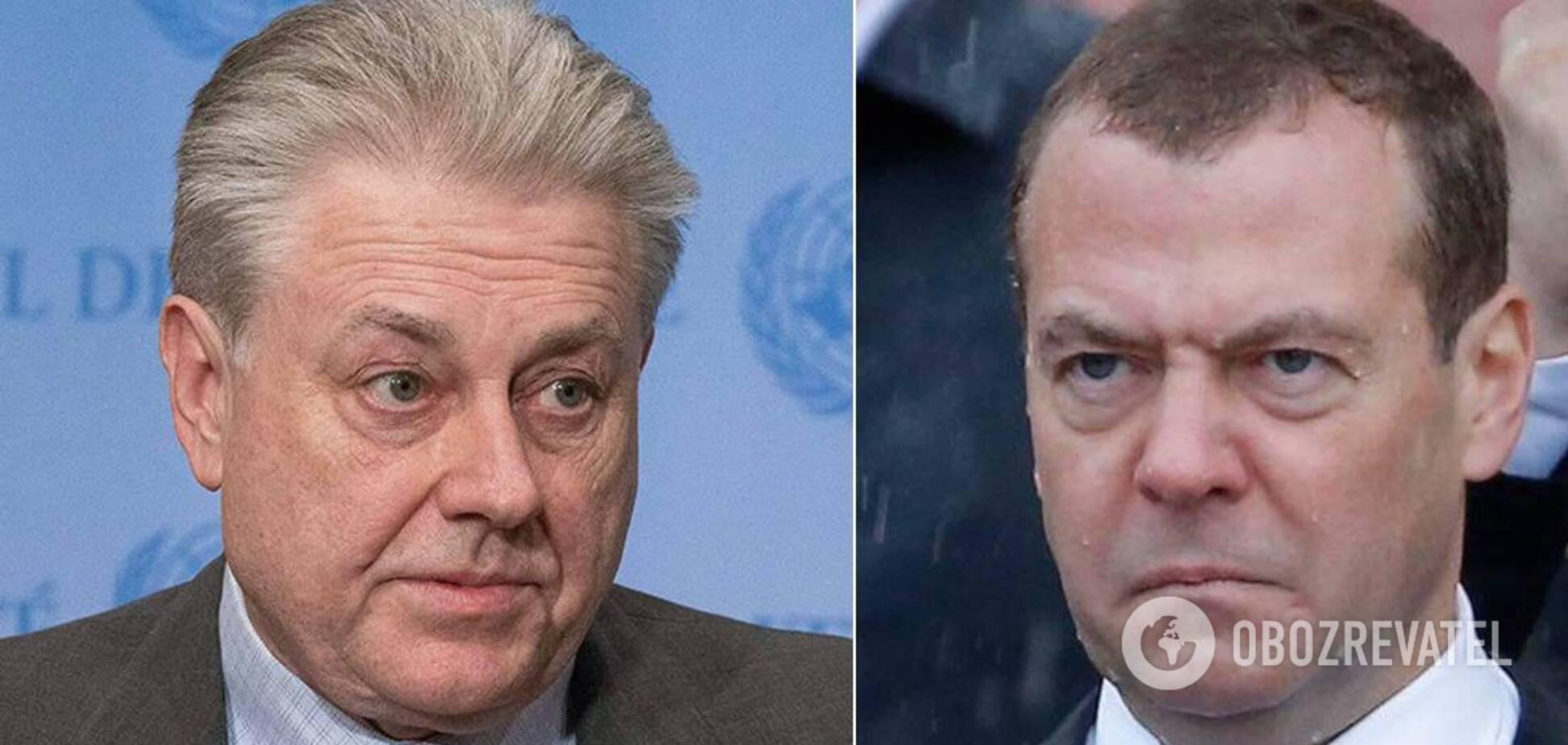 Ельченко ответил Медведеву на выпад о Крыме