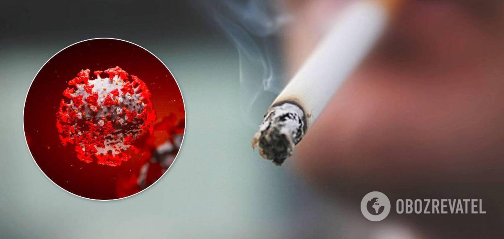 У ВООЗ розповіли про зв'язок COVID-19 і куріння