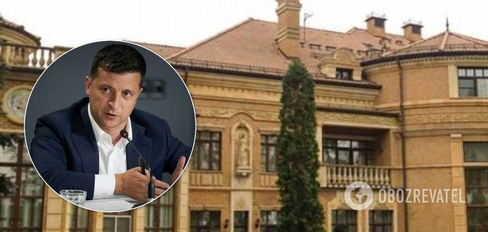 Зеленский обещал передать резиденцию детям, но посчитал себя 'бездомным'
